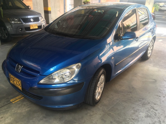 Peugeot 307 Xt 2.0 Litros Azul 5 Puertas 113.000 Kms