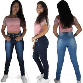 Calça Jeans Feminina Atacado 10 Peças Frete Grátis