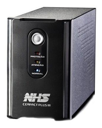 Nobreak Compact Plus Iii 1200va/600w Bivolt Preto - Nhs