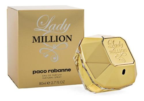 Perfume Original Lady Million De Paco - mL a $3374