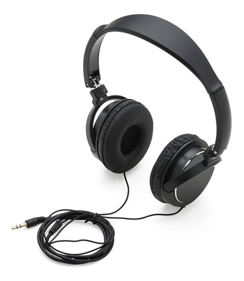 Fone De Ouvido Stereo Dobrável P2