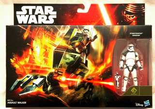 Assault Walker Con Stormtrooper Star Wars - Vehiculo Figura