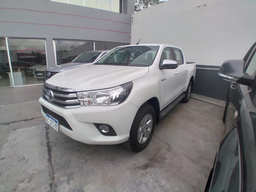 Toyota Hilux Sr 4x2 Manual 2018 46.000km Blanco