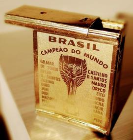 Cigarreira Comemorativa Da Copa Do Mundo De 1958 - Cbf