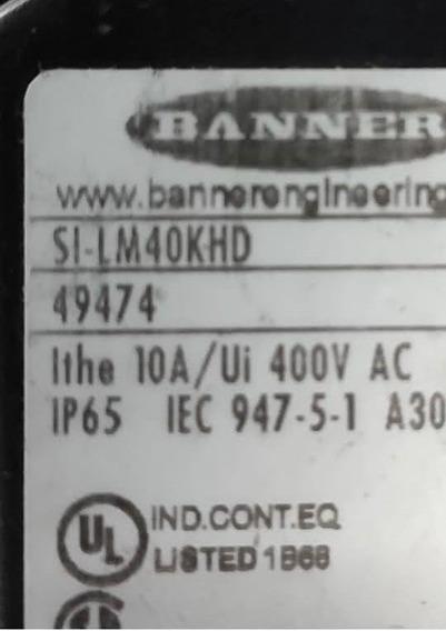Chave De Segurança Banner Si Lm40khd Com Lingueta.