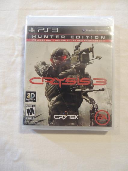 Jogo Ps3 Crysis 3 Hunter Edition