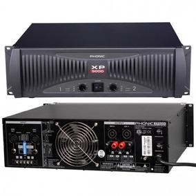 Amplificador De Potencia Xp 5000, Phonic