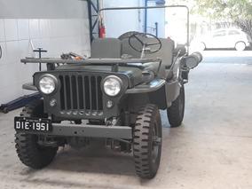 Jeep Militarizado 1951 Placa Preta Do Ano