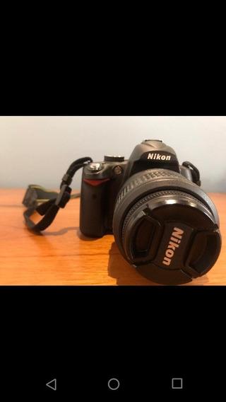 Câmera Nikon D5000 Profissional + Lente 18-55mm