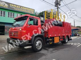 Vw 13190 Comboio 5000 Lts Lubrificante Sem Uso Abastecimento