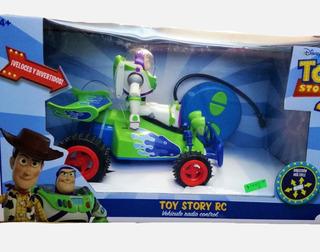 Toy Story 4 Vehiculo Radio Control Buggy Buzz Lightyear R/c