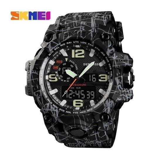 Relógio Masculino Skmei 1155 Série Estampados Frete Grátis