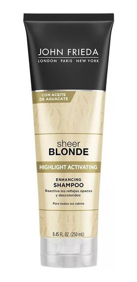 Shampoo John Frieda Sheer Blonde Highlight Reflejos Rubios