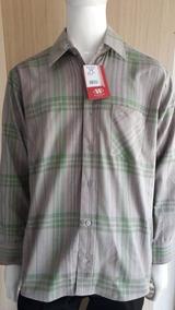 Camisa Flanela 100% Algodão
