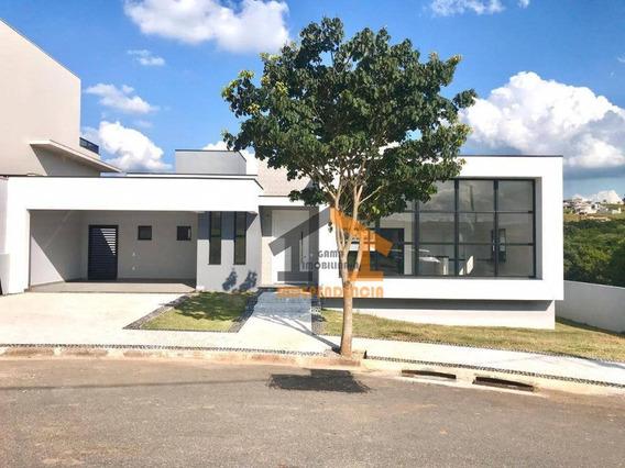 Casa Com 3 Dormitórios À Venda, 201 M² Por R$ 1.166.000,00 - Condomínio Reserva Santa Rosa - Itatiba/sp - Ca0931
