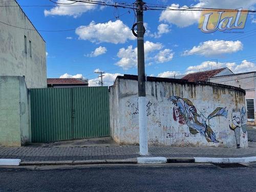 Terreno À Venda, 200 M² Por R$ 320.000,00 - Centro - Atibaia/sp - Te1271