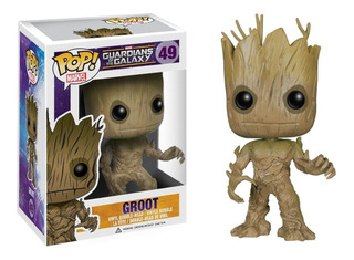 Funko Pop Groot,guardians Of The Galaxy.