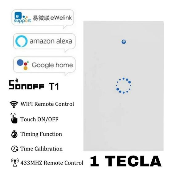 Interruptor Inteligente Wifi Sonoff Google Home Alexa 1 Tcla