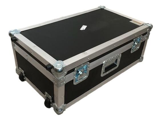 Flight Case Para Moog Sub 37 Com Alça Telecopica E Rodas