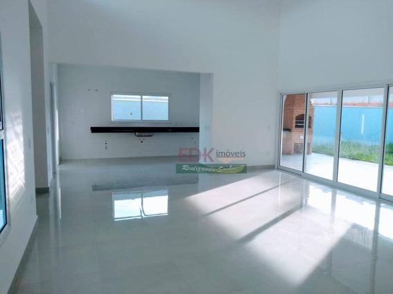 Casa Com 3 Dormitórios À Venda, 235 M² Por R$ 945.000,00 - Parque Lago Azul - Pindamonhangaba/sp - Ca3132