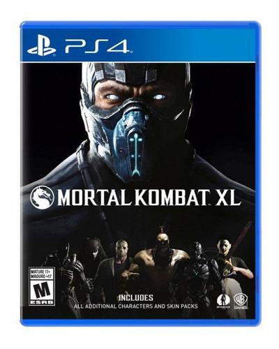 Imagen 1 de 10 de Mortal Kombat Xl Juego Ps4 Nuevo Fisico Original Sellado