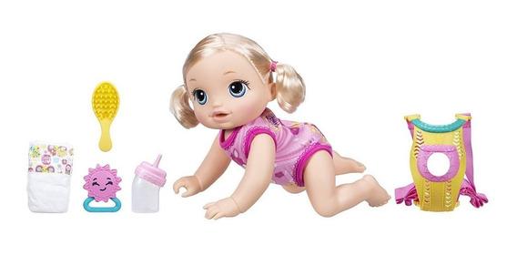 Boneca Baby Alive Hora Do Passeio Loira