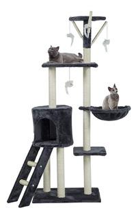 Rascador Tipo Arbol Para Gatos - Mediano / Palo Piña