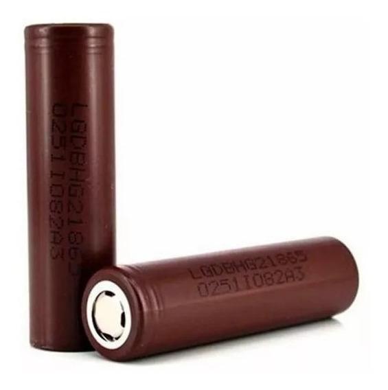 Bateria 18650 Modelo Lg Hg2 Lg Chocolate Perfeito Para Vape