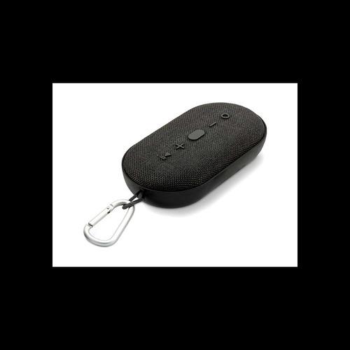 Bocina Coby Portable, Bluetooth, Resistente Al Agua, Negra