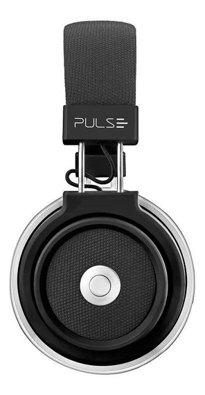 Pulse Fone De Ouvido Ph230 Headphone Bluetooth Musica Preto