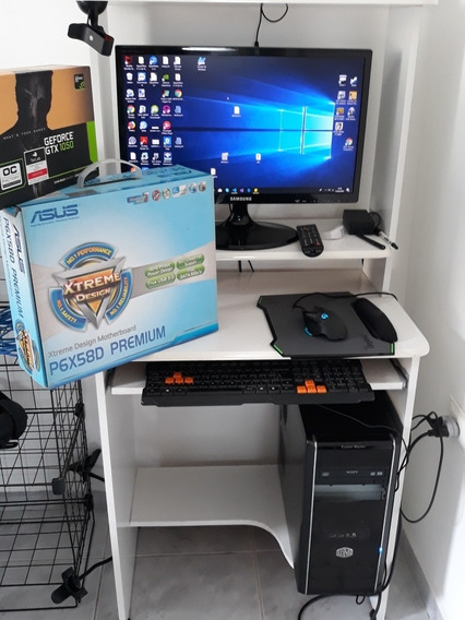 Desktop I7 Ssd 256 18gb Ram Monitor 22 Geforce Gtx 1050 2gb