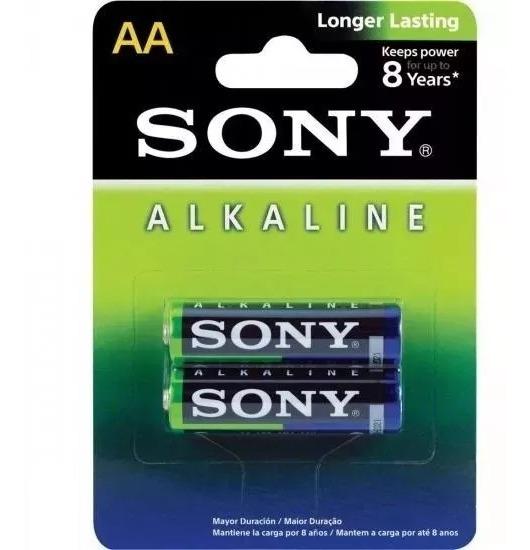 Pilha Sony Am3l-b2d Aa Alcalina C/2 Kit C/5