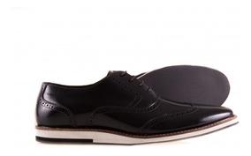 Sapato Social Couro Oxford - Jcanedo