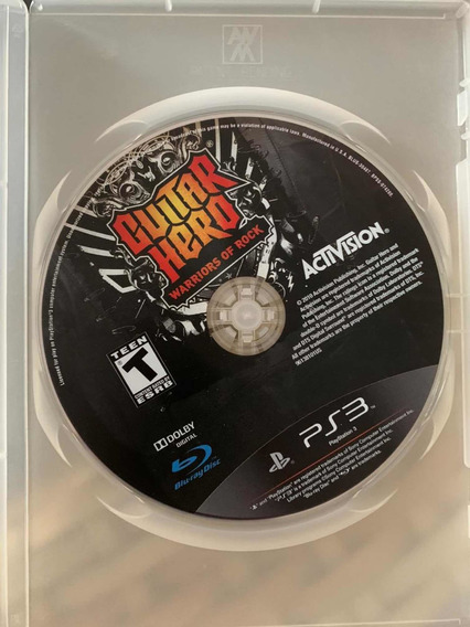 Ps3 Guitar Hero - Warriors Of Rock - Original Midia Fisica