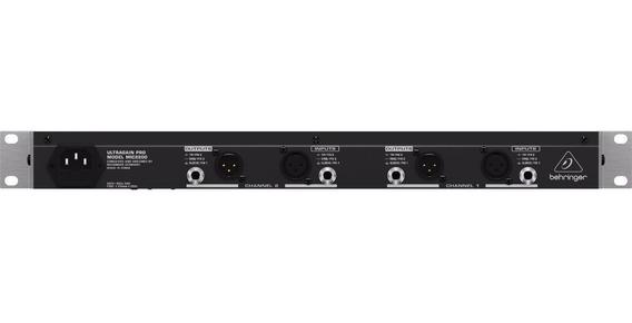 Pré-amplificador Valvulado Ultragain Pro Mic 2200
