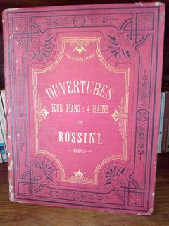Ouvertures Pour Piano Rossini