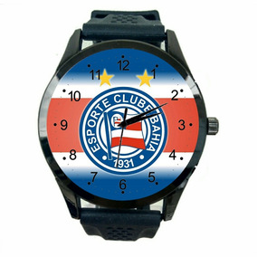 Relógio Bahia Fc Unissex Barato Futebol Esporte Time T823