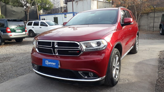 Dodge Durango 3.6 2017 Roja
