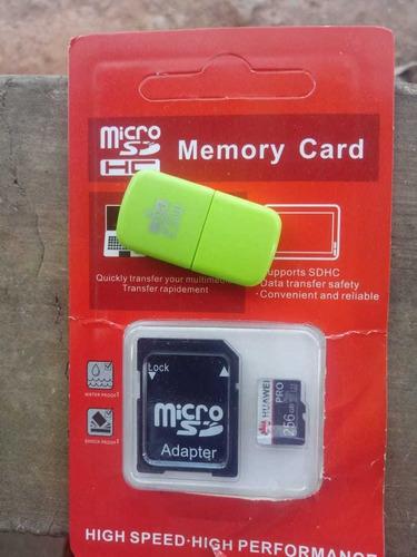 Cartão De Memória 256gb Com Adaptado Usb