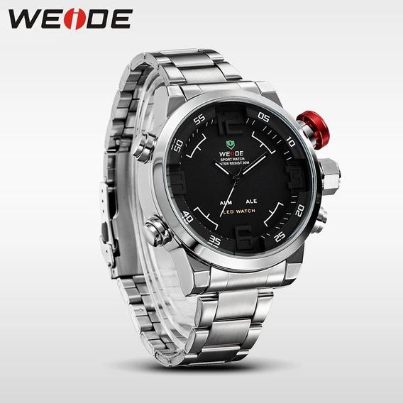 Relógio Weide Dual Time Masculino