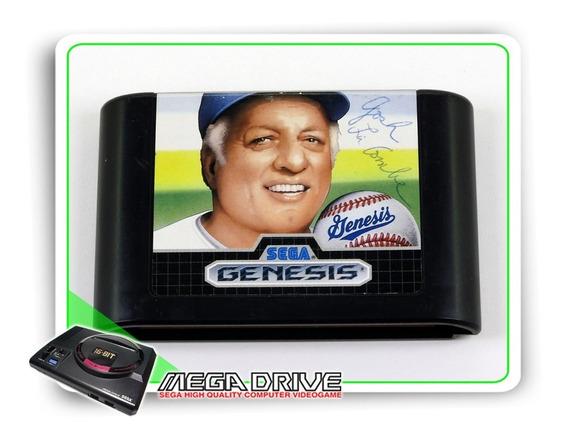 Tommy Lasorda Baseball Original Sega Mega Drive - Genesis