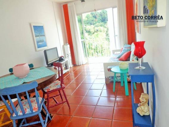 Guarujá, Enseada Excelente Apartamento Próximo A Praia, Com Espetacular Área Gourmet Com Churrasqueira E Forno De Pizza - Ap0325
