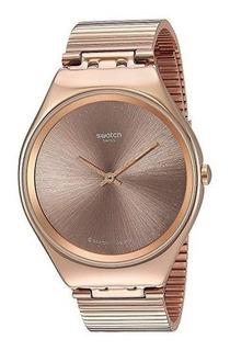 Swatch Dama Rose Gold Skinelegance Syxg101gg En Cuotas+envio