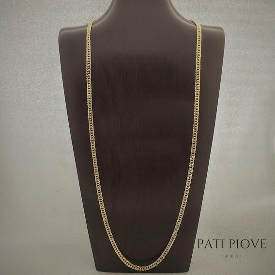 Corrente Prata 925 Grumet 70 Cm 4,5 Mm B Ouro 16,7 G 237