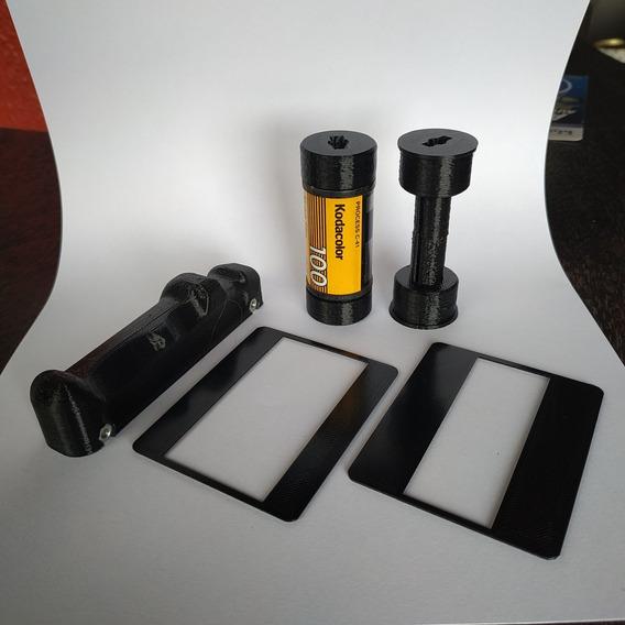 Kit Pentax 67 - Grip + 135to120 + Máscaras
