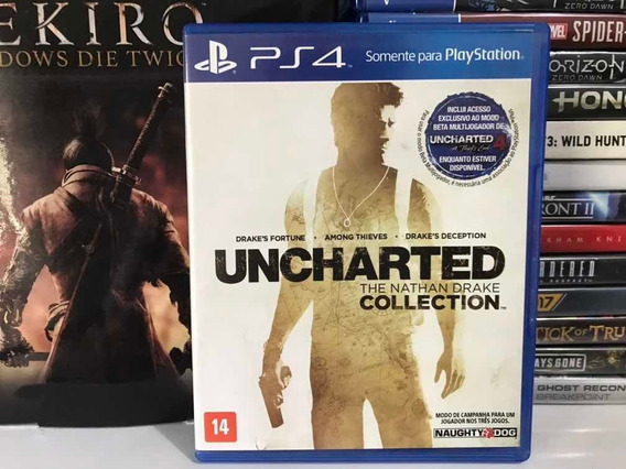 Uncharted Collection Ps4 Midia Fisica