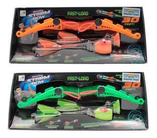 Juguete Arco Resortera Lanzador De Flechas Ax1021