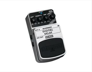Pedal De Efecto Delay Digital Behringer Dd400+garantía