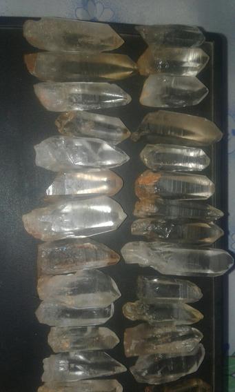 100unidades Quartzo Cristal Natural Lemuriano Para Orginite