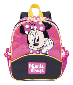 Mochila Infantil Bebê Menina Minnie Pequena Costas 65298